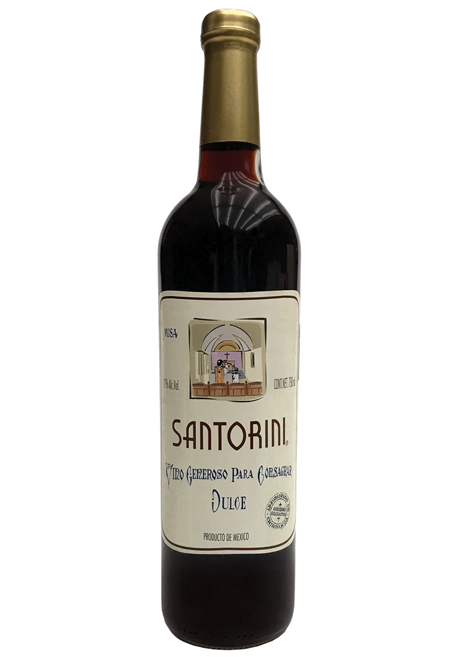 "Generous Grape Wine to Consecrate""Santorini"""