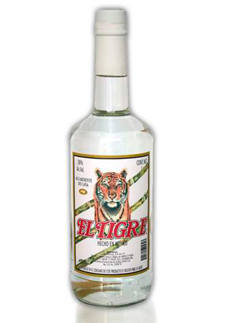 Schnapps El Tigre Traditional with cane