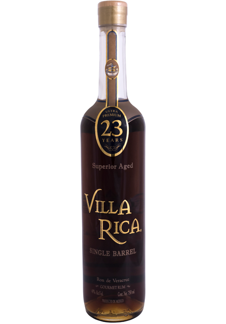 Rum extra aged  Villa Rica 23 years Gold Edition