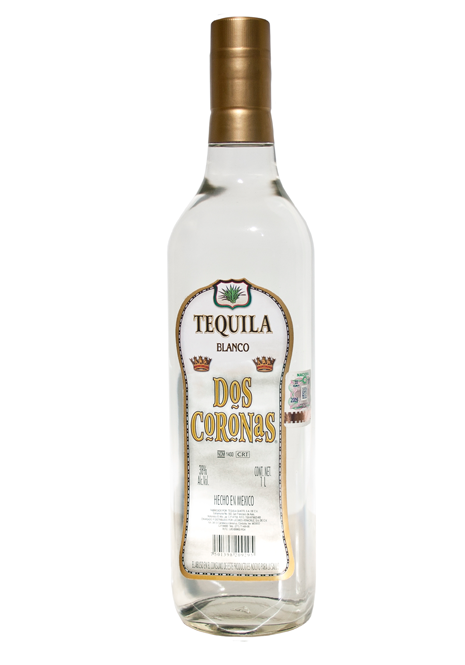 "Tequila Blanc ""DOS CORONAS"" Édition Anniversaire"